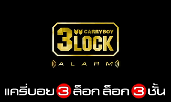 CARRYBOY 3LOCK ALARM